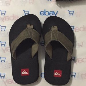 Boys Quicksilver Flip Flops
